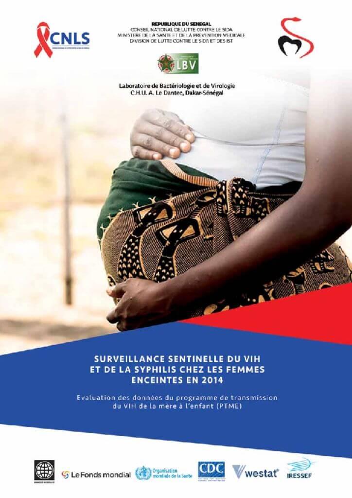 thumbnail of Surveillance sentinelle du Vih et de la syphilis chez la femme enceinte en 2014