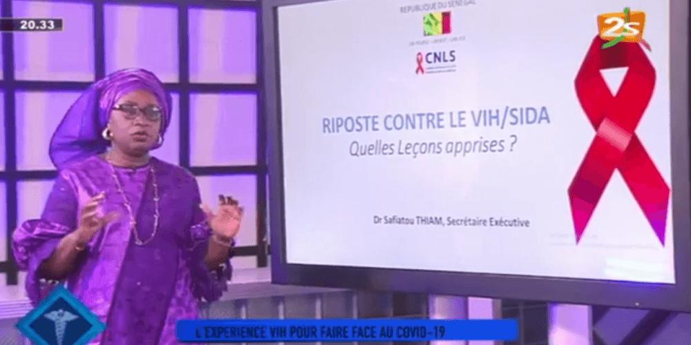 Polisanté : invitée Dr Safiatou Thiam , Secrétaire  Exécutive du CNLS