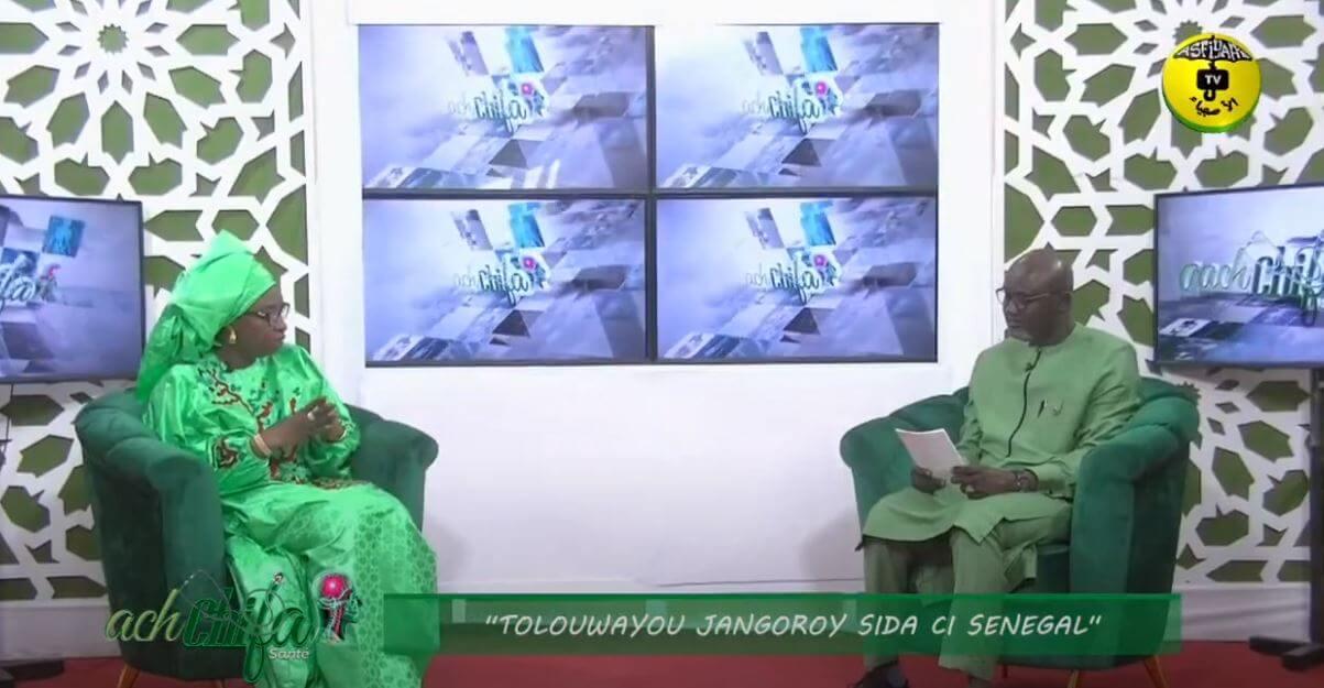 Émission Santé » ach chifa » Thème » tolouwayou jangoroy sida ci senegal » Invitée Dr Safiatou Thiam